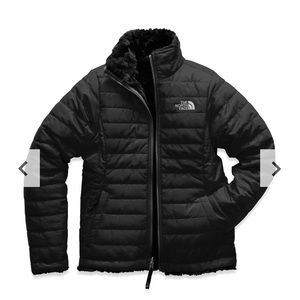 The North face reversible puffer jacket coat